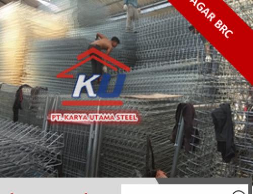 Pagar BRC Minimalis Ekonomis Anti Kantong Kritis | 081-357-605-040