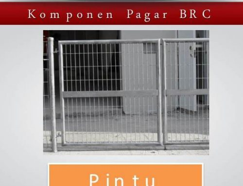 Jual Pagar Brc Surabaya Galvanis Murah Ready Stock Tinggi 120 cm