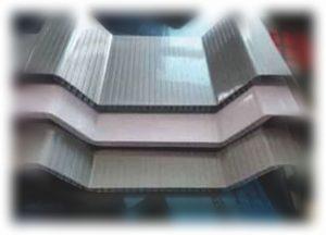 Jual Atap UPVC Untuk Gudang Parkiran Pabrik Rooftop Murah di Surabaya Lebar 770mm