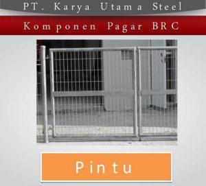 Pabrik Pagar Brc Sidoarjo Ready Stock Dan Terima Pesanan Ukuran Khusus