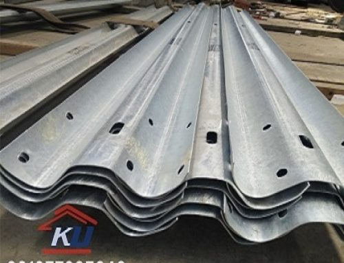 Tebal 6 mm Post Base Plate Pagar Pembatas Jalan Murah Per Unit Free Assesoris Dan Include PPn